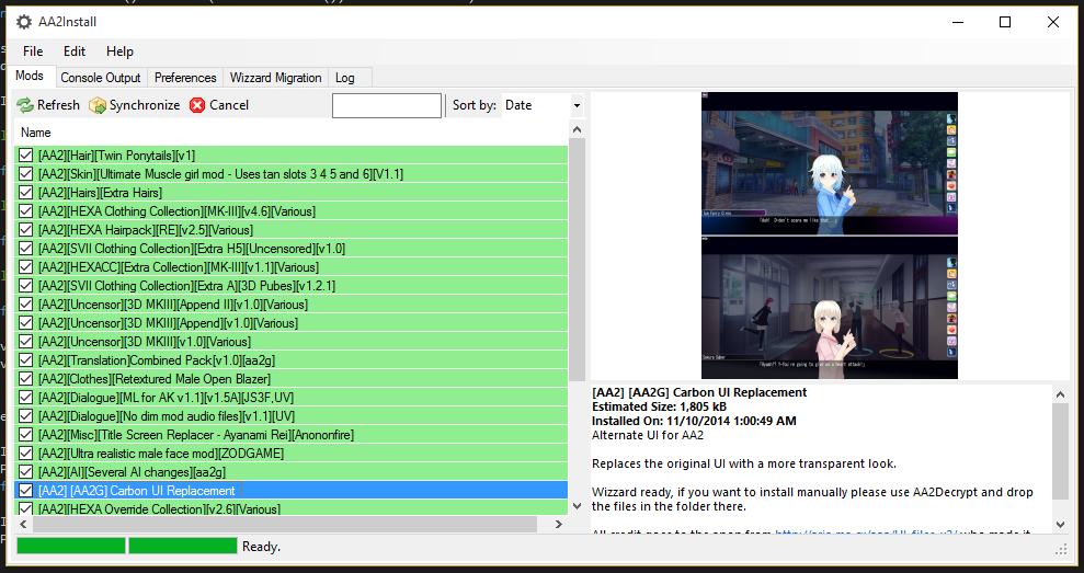 AA2Install - FOSS mod installer - Version 6 3 (Illusion Wizzard